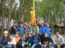 """Fakulteto studentų atstovybės """"STATIUS"""" stovykla, 2010 m."""
