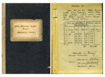 Tyrimų laboratorijos Statybos komisijos protokolas, rašytas J. Vėbros, 1933 m.