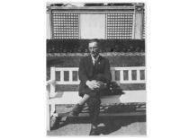 Doc. Juozas Vėbra – Vytauto Didžiojo universiteto Technologijos fakulteto Neorganinės technologijos katedros vedėjas 1940–1944 m. (Originalas – J. Vėbros šeimos archyve)