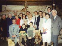 Ragulskiai su artimaisiais, 2001 m.