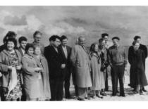 Konferencijos Kaune dalyviai ekskursijoje Neringoje, 1963 m.