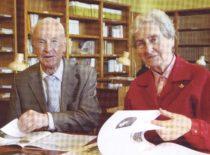 Vyda ir Kazimieras Ragulskiai LMA bibliotekos skaitykloje, 2007 m