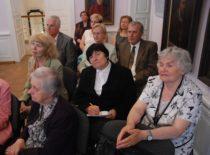 Prof. V. Ragulskienės 80-mečio minėjimas Kauno miesto muziejuje, 2011 m.